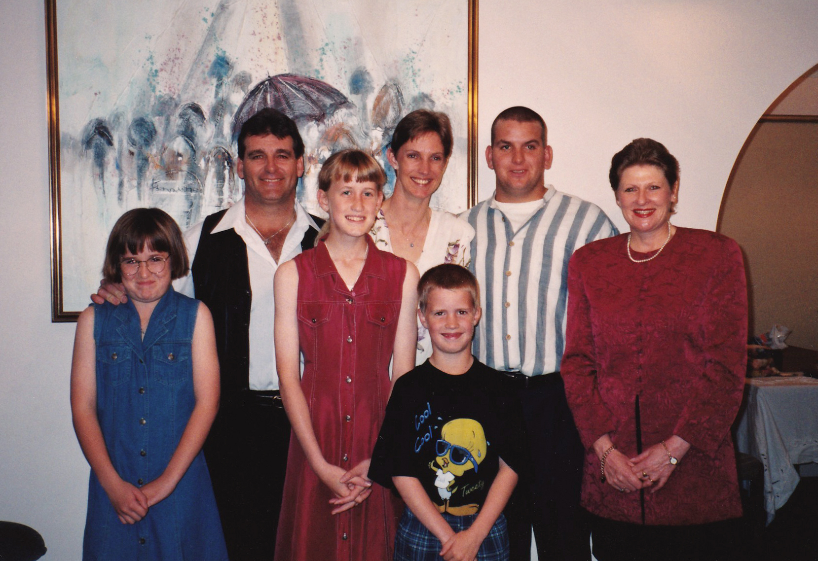 Susan with Family