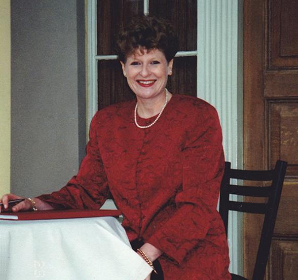 A young Susan Artup