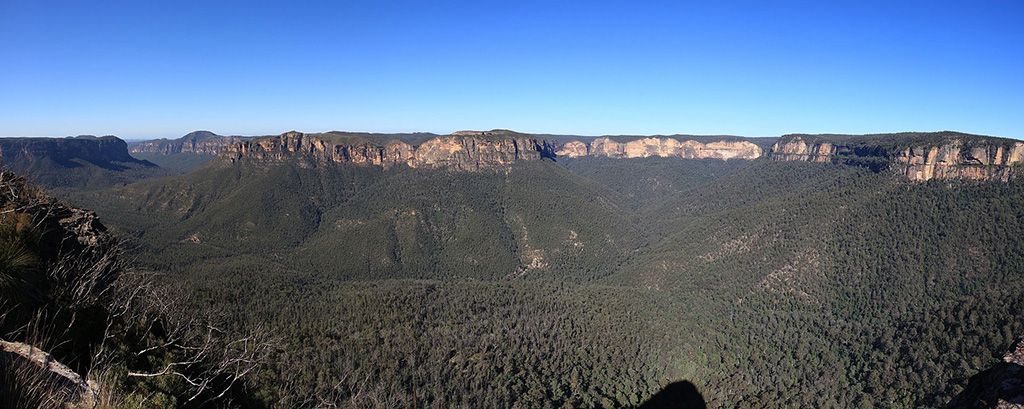 Grose Valley as seen from Blackheath