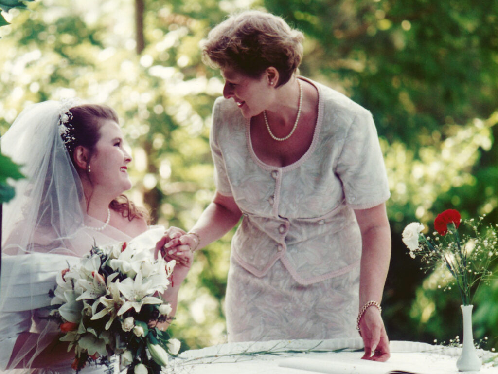 1995 wedding