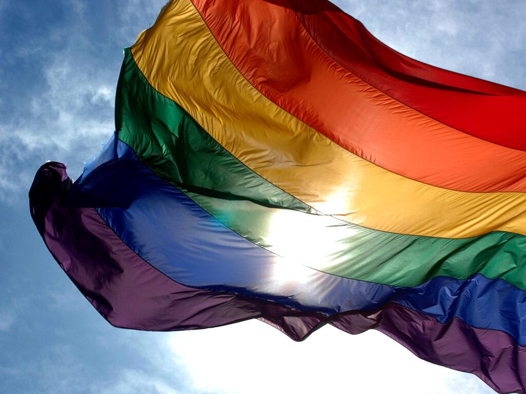 same sex celebrant flag