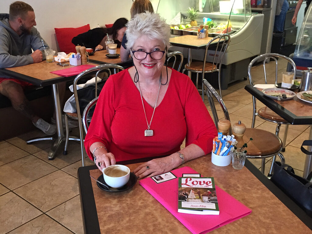 Coffee with Susan Artup Marriage Celebrant
